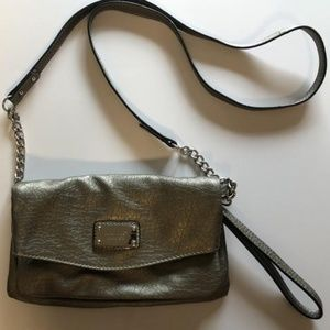 Small Gray Nine West Crossbody Purse